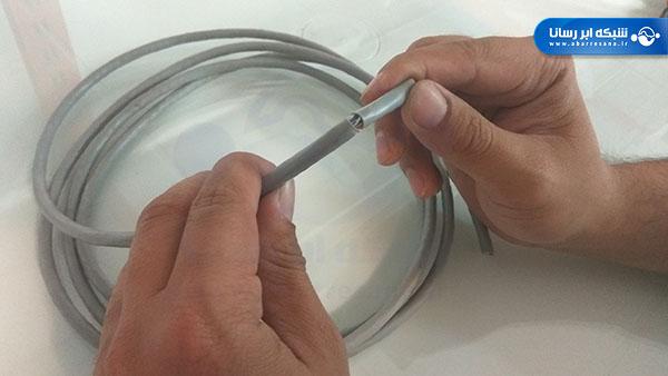 لخت کردن کابل